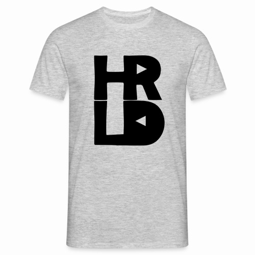 HRLD Black Logo - Miesten t-paita