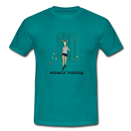 Antilope running - T-shirt Homme