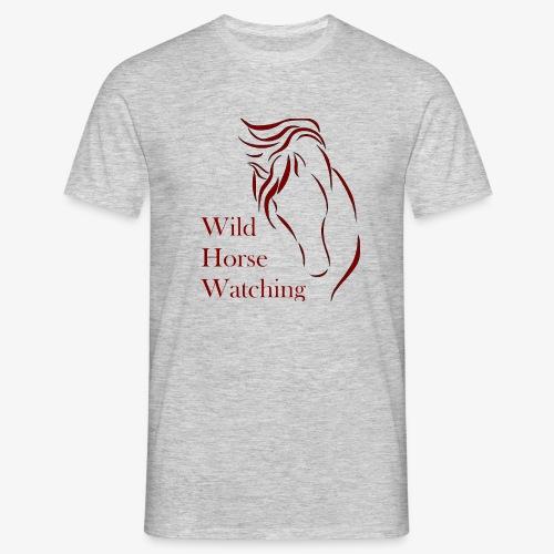 Logo Aveto Wild Horses - Maglietta da uomo