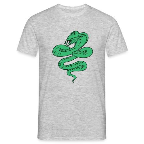 SERPENTE VERDE - Maglietta da uomo