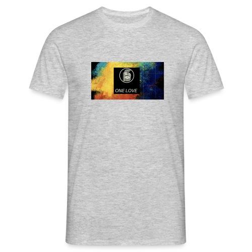 """Secret Blend ( SB ) """" One Love"""" - Männer T-Shirt"""