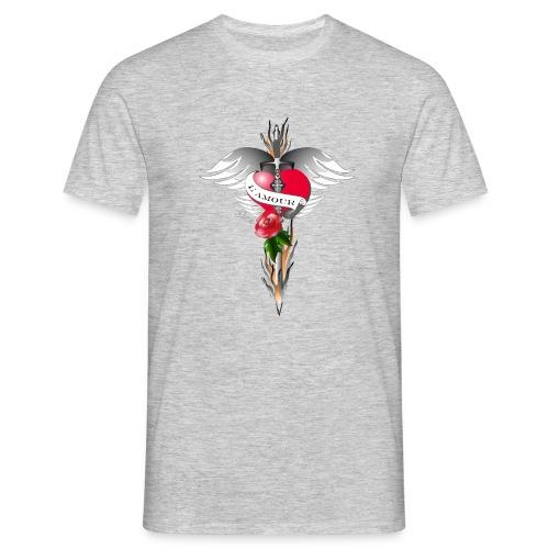 L' Amour - Die Liebe in Flammen - Männer T-Shirt