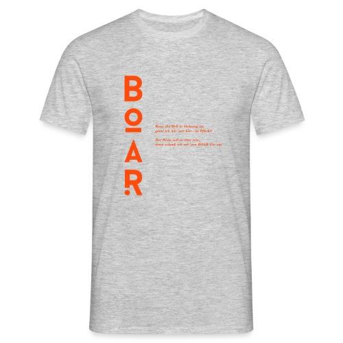 BOAR Gin - höchstprämierter Gin der Welt - Männer T-Shirt