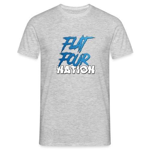 Flat Four Nation - Men's T-Shirt