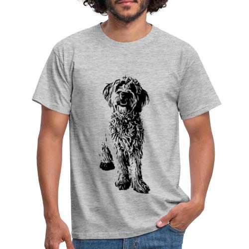 Golden Doodle Hunde Design Geschenkidee - Männer T-Shirt