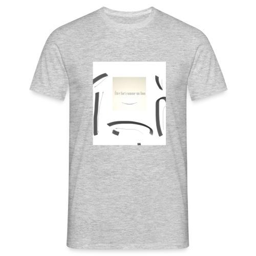 Sei stark wie ein Löwe - Männer T-Shirt