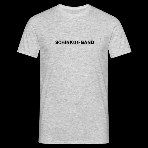 SCHINKO BAND Logo Schwarz - Männer T-Shirt