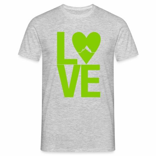 Mountain Love - Männer T-Shirt