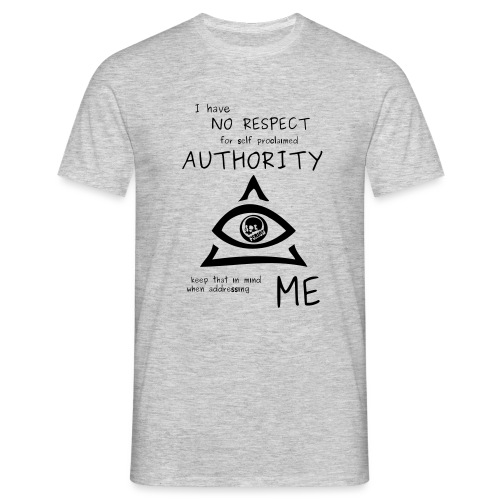 authority - Men's T-Shirt