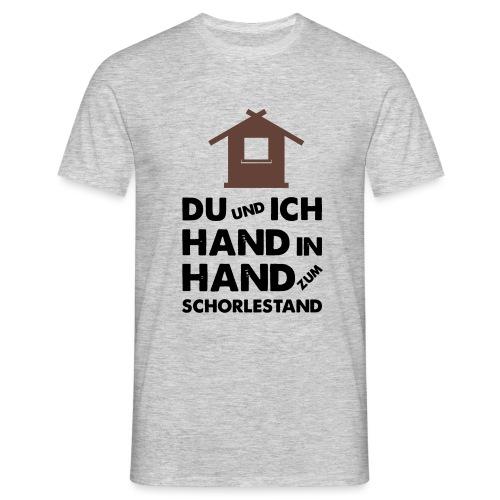 Hand in Hand zum Schorlestand / Gruppenshirt - Männer T-Shirt
