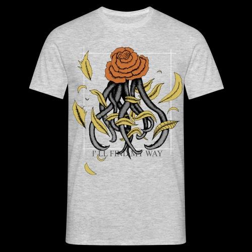 Rose octopus - T-shirt Homme