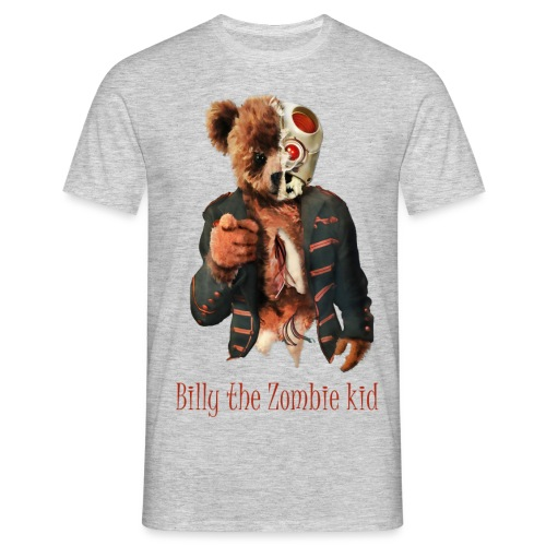 Billy the Zombie kid T-shirt. - T-shirt herr