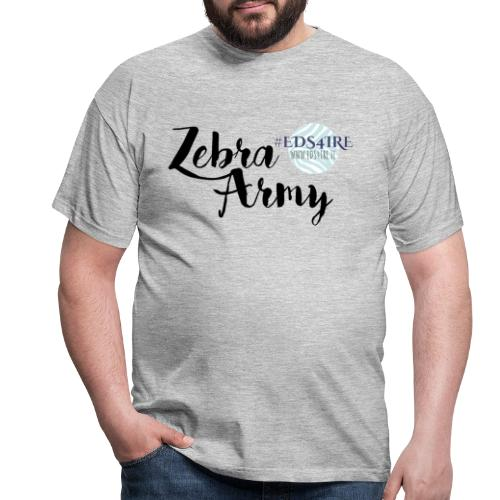 Zebra Army (black) - Men's T-Shirt