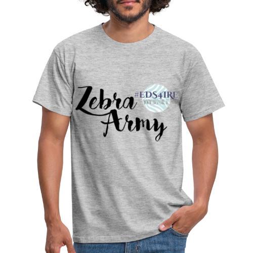 Zebra Army (black) - Men's T-Shirt