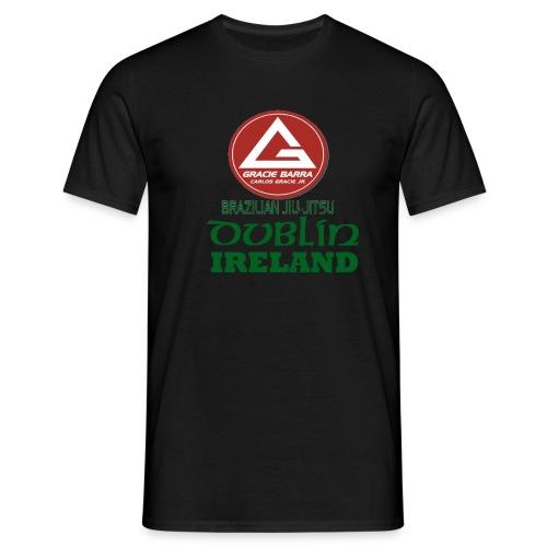 Gracie Barra Dublin Gaelic Celtic Font PNG - Men's T-Shirt
