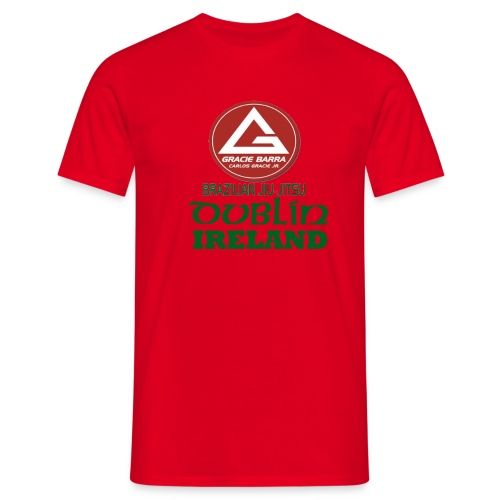 Gracie Barra Dublin Gaelic Celtic Font PNG - Men's T-Shirt