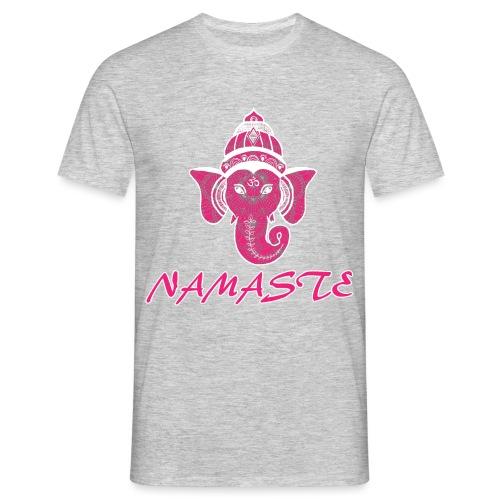 shiva rose namaste yoga pace amore hippie fitness - Maglietta da uomo