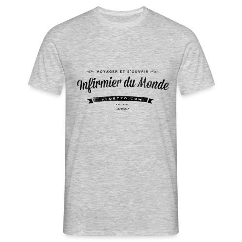 infirmier du monde - T-shirt Homme
