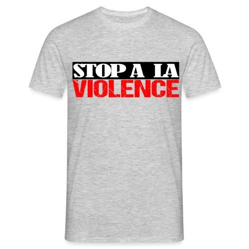 stop a la violance devant - T-shirt Homme