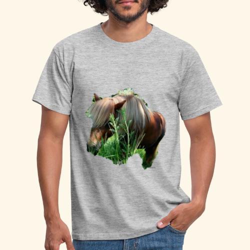 tee-shirt poney - T-shirt Homme