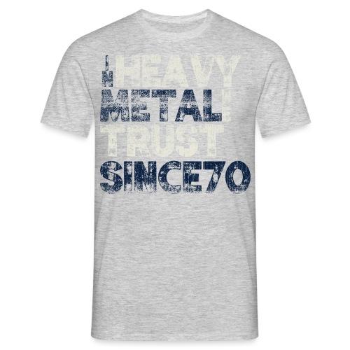 metaltrust png - Herre-T-shirt