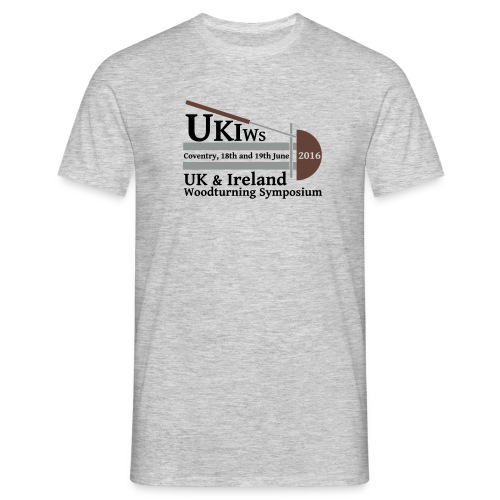 LARGE-UKIWS-Logo - Men's T-Shirt