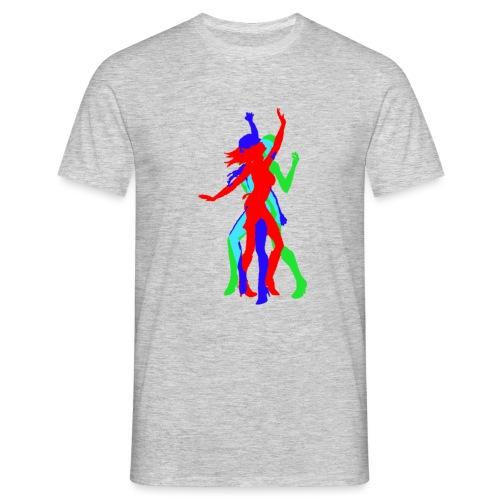 Dancing Woman - Männer T-Shirt