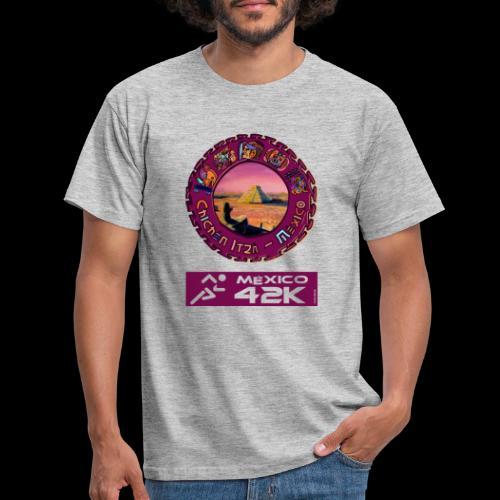 Chitzen Itza Mexico 42K Marathon Mexiko - Männer T-Shirt