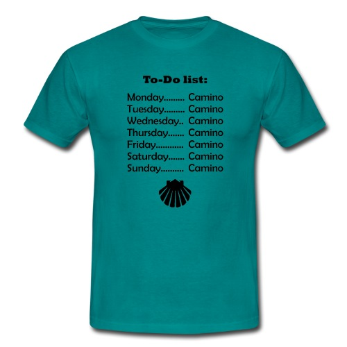To-do list: Camino - Herre-T-shirt