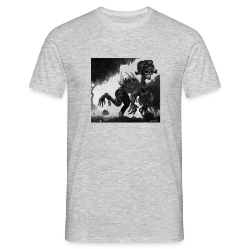 skelletoman - T-shirt herr