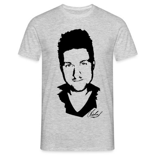 MFsw T-shirt auf weiss NE - Männer T-Shirt