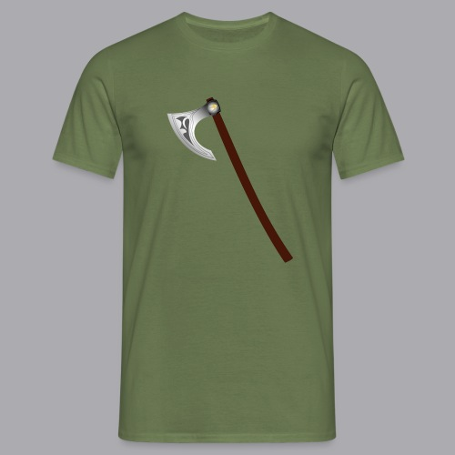 Wikinger Beil - Männer T-Shirt