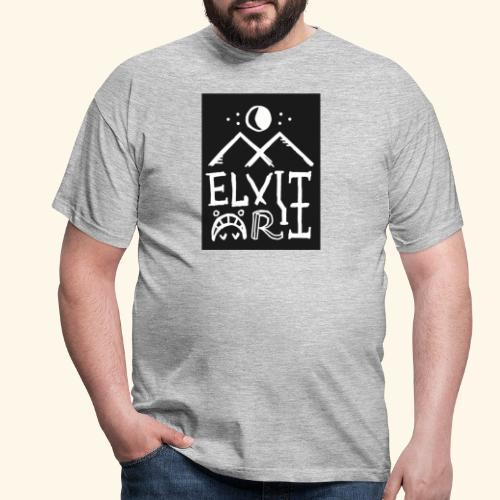 Elvitart logo grande - Maglietta da uomo