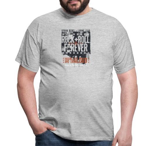 Rock forever - Men's T-Shirt