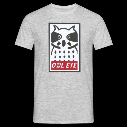 Owl Eye - Männer T-Shirt