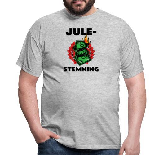 Julestemning . Morsomt julemotiv - T-skjorte for menn