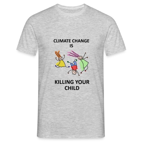 Save your child - T-shirt Homme