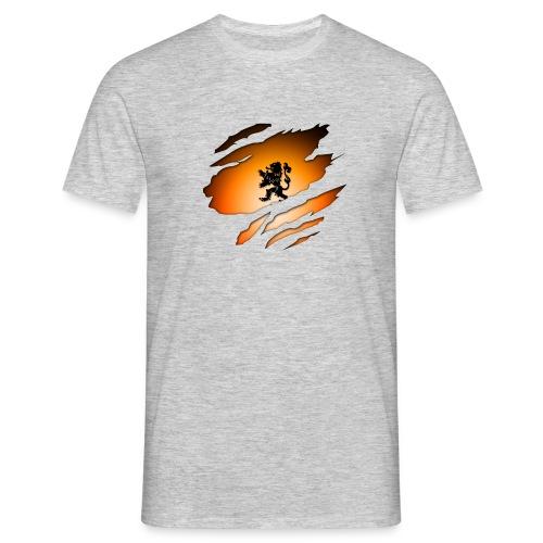 Dutch Inside: Leeuw - Mannen T-shirt
