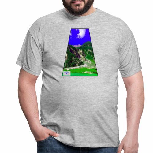 BergAUsBlick ValC - Männer T-Shirt