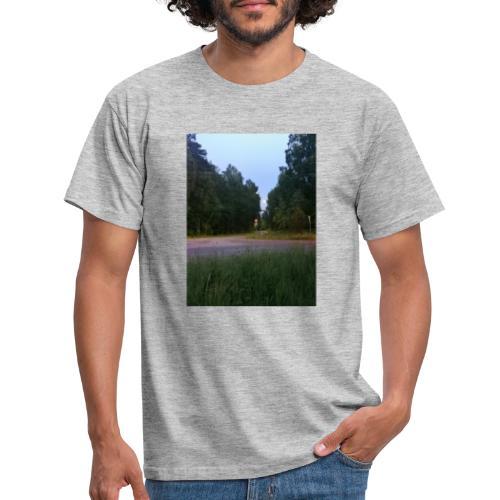 Måneveien - T-skjorte for menn