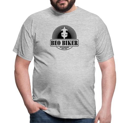 Logo Beo Biker Black - Männer T-Shirt