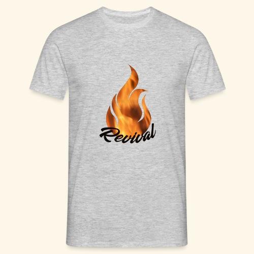Revival fire - T-skjorte for menn