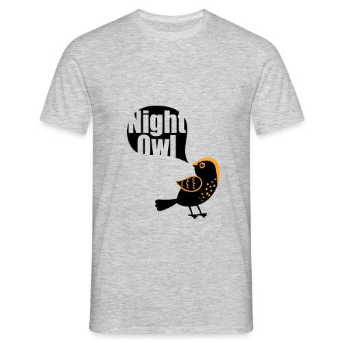 Night Owl - Mannen T-shirt