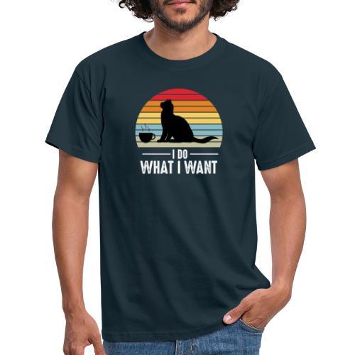I do what I want - T-shirt herr