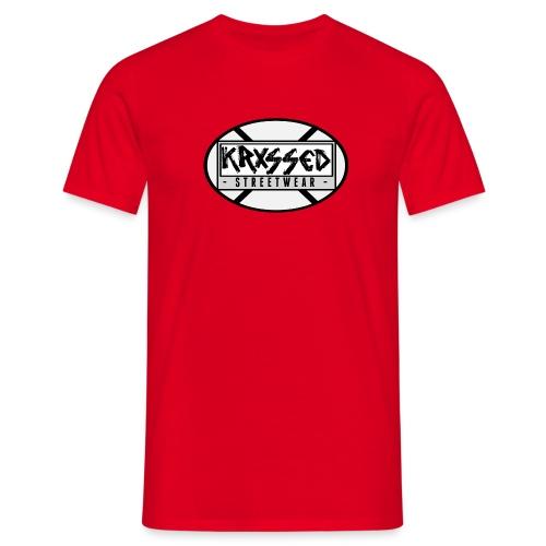 KRXSSED BASIC II - Mannen T-shirt