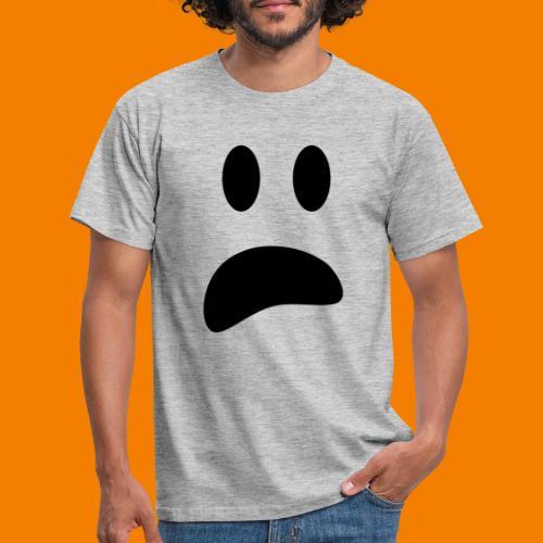 Skrämt spöke - T-shirt herr
