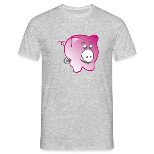 Pig - Symbols of Happiness - Men's T-Shirt