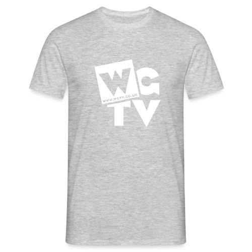 Logo_White_Large - Men's T-Shirt