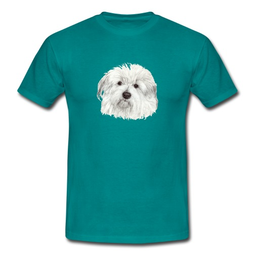 coton-de-tulear - Herre-T-shirt