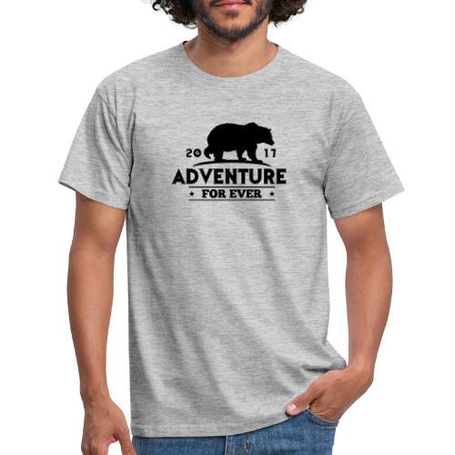 ADVENTURE FOR EVER - GRIZZLY - Maglietta da uomo